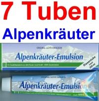 ( 18,25 EUR / 1Ltr.)  LLOYD Alpenkräuter Emulsion 7 x 200 ml