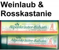 (28,00 EUR / 1Ltr.) LLOYD Alpenkräuter-Balsam mit Weinlaub und Rosskastanie 3 x 200 ml