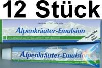 ( 17,45 EUR / 1Ltr.) LLOYD Alpenkräuter Emulsion 12 x 200 ml