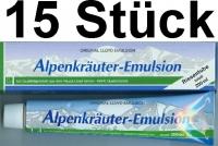 ( 16,90 EUR / 1Ltr.)  LLOYD Alpenkräuter Emulsion 15 x 200 ml