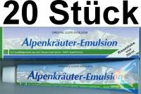 (15,90 EUR / 1Ltr.)  LLOYD Alpenkräuter Emulsion 20 x 200 ml