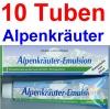 ( 17,45 EUR / 1Ltr.) LLOYD Alpenkräuter Emulsion 10 x 200 ml