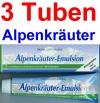 ( 26,65 EUR / 1Ltr.) LLOYD Alpenkräuter Emulsion 3 x 200 ml