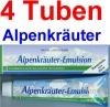 ( 22,25 EUR / 1Ltr.) LLOYD Alpenkräuter Emulsion 4 x 200 ml
