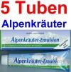 ( 20,50 EUR / 1Ltr.) LLOYD Alpenkräuter Emulsion 5 x 200 ml