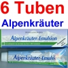 ( 19,95 EUR / 1Ltr.)   LLOYD Alpenkräuter Emulsion 6 x 200 ml