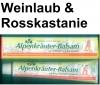 (19,75 EUR / 1Ltr.) LLOYD Alpenkräuter-Balsam mit Weinlaub und Rosskastanie 25 x 200 ml